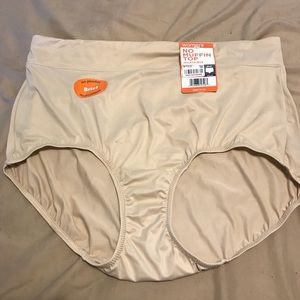 2X Warner's No Muffin Top Brief